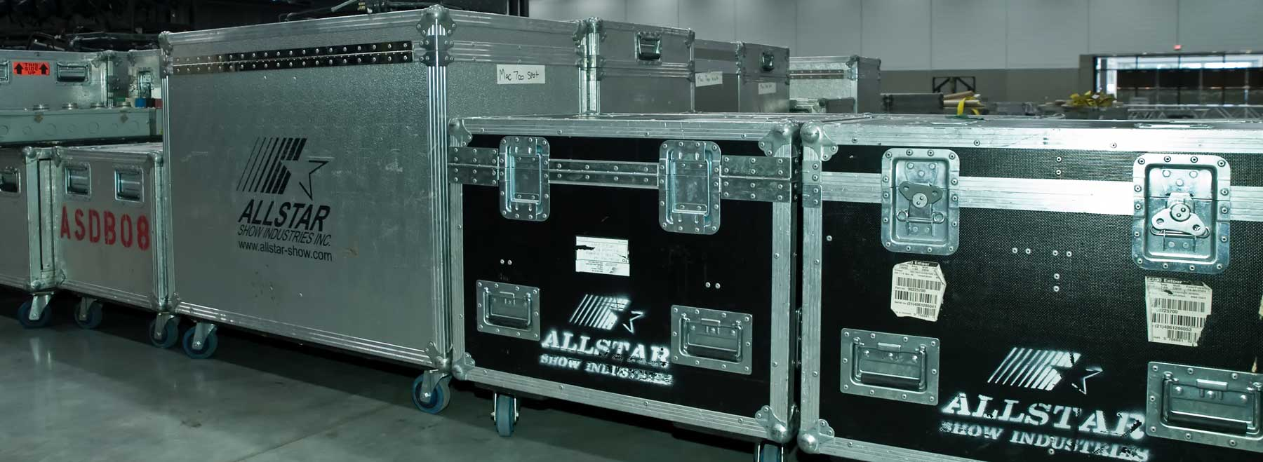 Allstar Show Industries has lots of Audio Video Lighting and Staging Equipment
