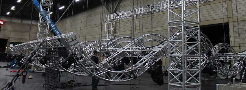 Allstar's truss and rigging with some imagination can create special things