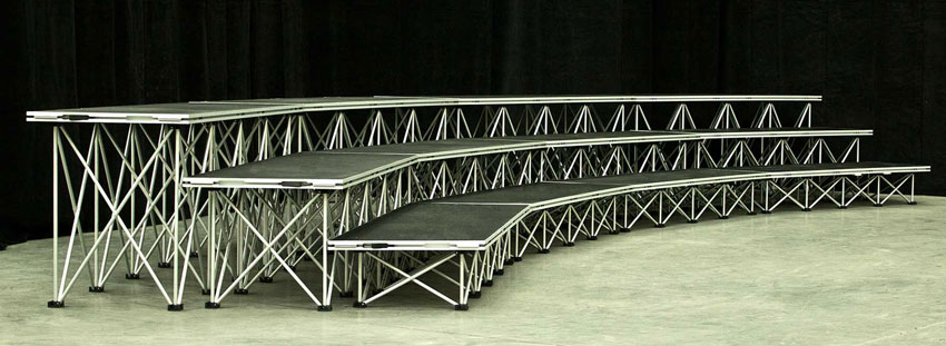 XL Stage from Allstar Show Industries is mudukar staging made simple