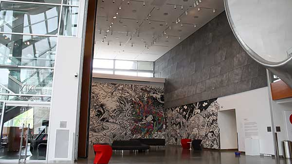 Distributed Sound System installed at the Edmonton Art Gallery by Allstar Show Industries