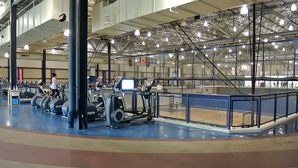 Allstar was contracted to design build the primary and sub audio systems for the Kenyon Gymnasium, fitness area and running track at Calgary's Mount Royal University.