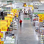 Photo of a large retail store interior.