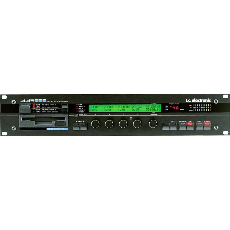 TC Electronics M5000 Digital AudioMainframe front