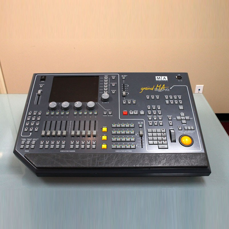 Used MA Lighting grandMA light Multimedia Console for sale - front