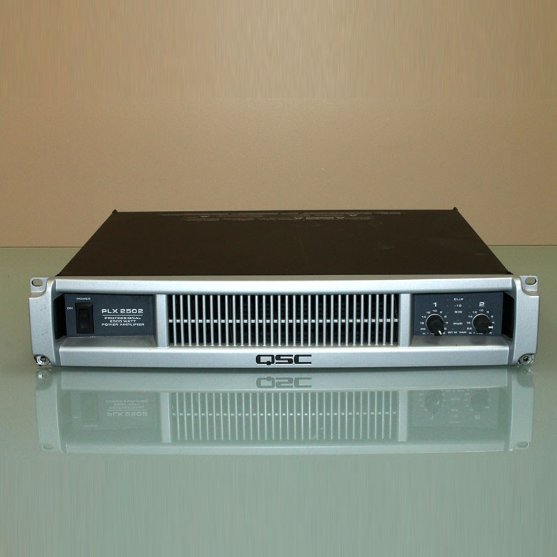 used qsc plx2502 power amplifier for sale allstar show industries. Black Bedroom Furniture Sets. Home Design Ideas