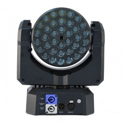 AMY 365 CI3 RGB Mini Moving Head Light - front view
