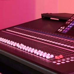 Used Yamaha LS9-32 Digital Mixing Console from Allstar Show Industries Ex Rental Inventory- side close up 1