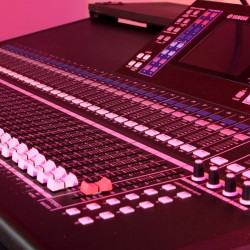 Used Yamaha LS9-32 Digital Mixing Console from Allstar Show Industries Ex Rental Inventory- close up 3
