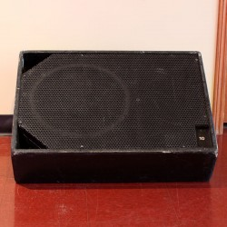Used ASD 1502W Bi-amped Stage Monitor - front