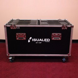 Used road case for Visualed ST-18P video panels