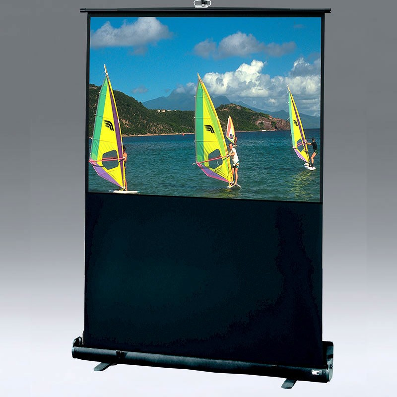 Draper 230107 Traveller Portable Projection Screen front