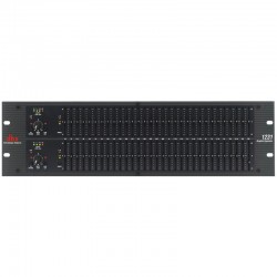 dbx 1231 Dual Channel 31-Band Equalizer - front