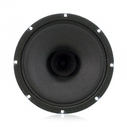 "AtlasIED SD72 8"" Dual Cone Ceiling Speaker with Transformer - front"