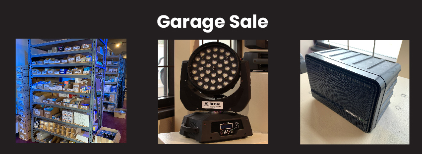 Allstar Show Industries is holding a summer garage sale. Hundreds of items significantly discounted page graphic
