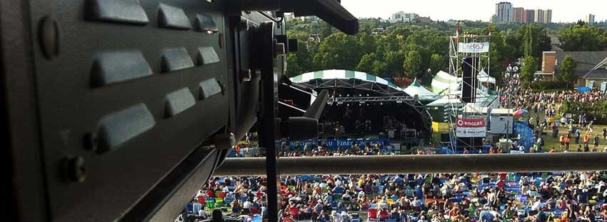 Audio Video Lighting Staging for Outdoor Events