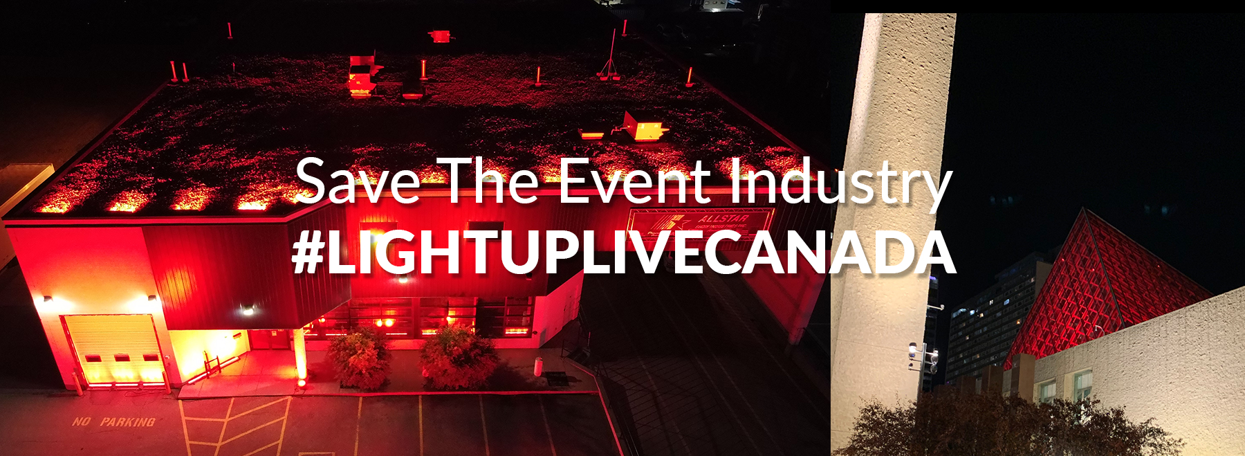 Image promoting LIGHTUPLIVECANADA.