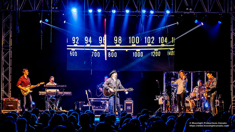 Clay Walker 2019 Tour Sound Viseo Lighting supplied by Allstar Show Industries for Brooks Sedgewich and Penhold Alberta dates.