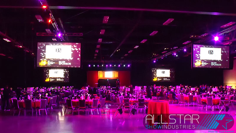 The Northern Alberta - North West Territories Junior Achievement Awards at Edmonton Northlands Expo Centre