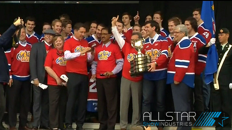 Edmonton Mayor Don Iveson proclaimed May 28 Edmonton Oil Kings day in the city