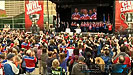 Hundreds of fans packed Churchill Square to celebrate the Edmonton Oil Kings Memorial Cup victory.