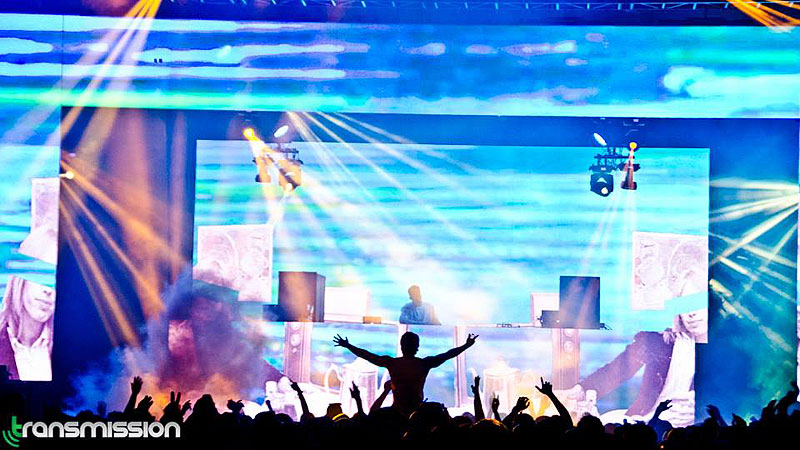 Full production services from Allstar for Pure, Boodang's annual all white party in the Shaw Conference Centre Edmonton with trance giant Armin Van Buuren.