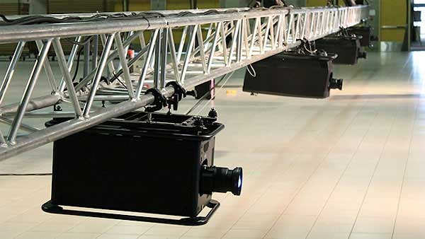 A sampling of Video Dry Hire rental equipment available from Allstar Show Industries