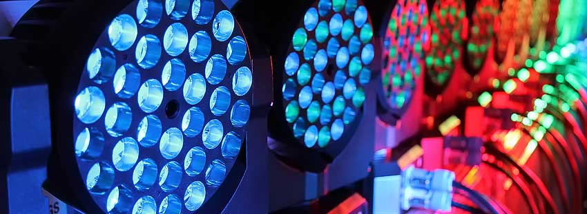 Allstar has a broad selection of popular professional lighting instruments and controllers available for Dry Hire Rentals.