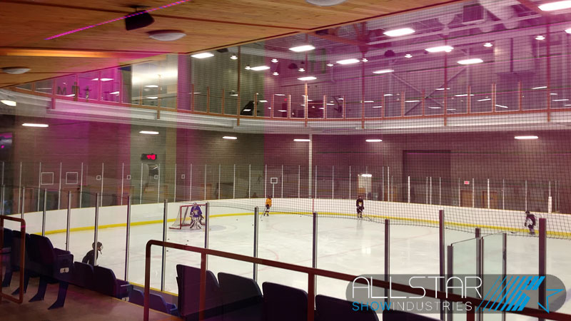 The Ardrossan Recreation Complex Arena.