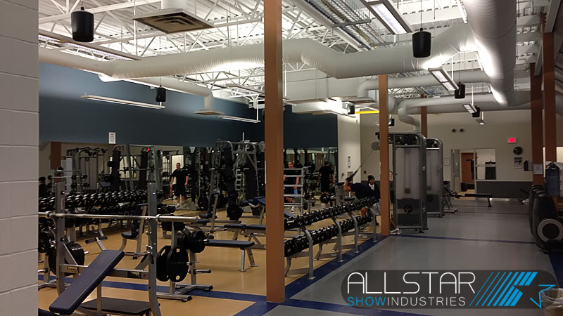 The Ardrossan Recreation Complex fitness centre.
