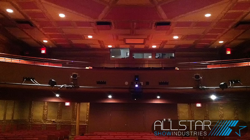 A view of the house from the stage at the Bailey Theatre Camrose Alberta Canada.