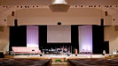 Beulah Alliance Church, six NEXO GEO S8's and two NEXO CS12 SUBS a side in the main auditorium.
