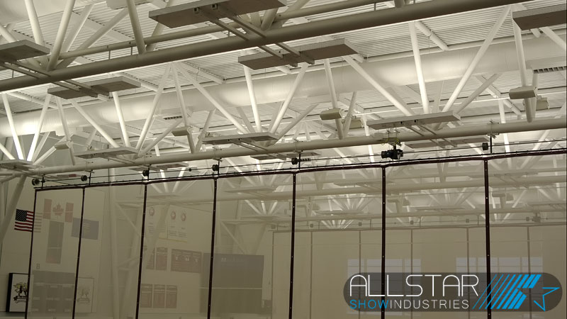MacEwan University City Centre Campus gymnasium sound system supply and installation by Allstar Show Industries.