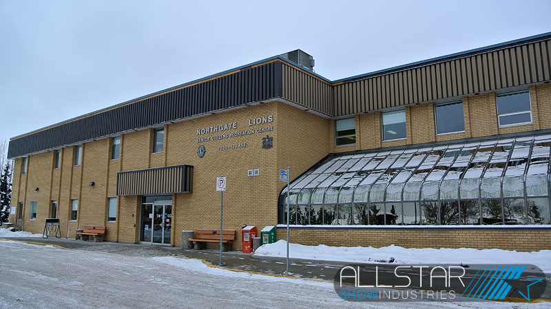 Northgate Lions Senior Citizens Recreation Centre Alberta Canada.
