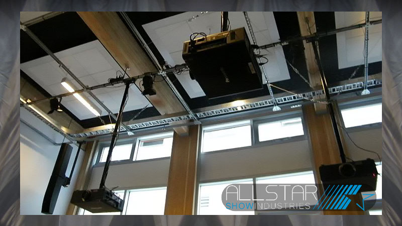 Projectors installed at University of British Columbia's Centre for Interactive Research on Sustainability Lecture Theatre