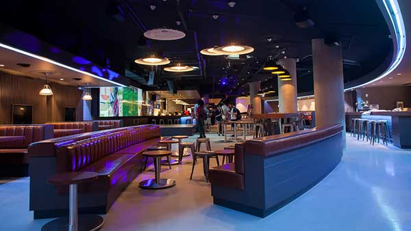 UBC Student Nest Pit Pub audio video and lighting supply and installation by Allstar Pacific Vancouver