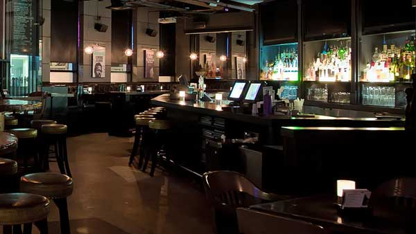 Audio Video supply and installation by Allstar Show Industries at Library Square Public House Vancouver British Columbia