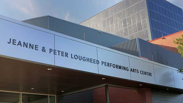 The Jeanne and Peter Lougheed Performing Arts Centre Sound, Video, Communications and Paging system supplied and installed by Allstar Show Industries