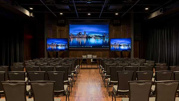 Audio Visual and control system supply, installation and programming at UBC by Allstar Show Industries
