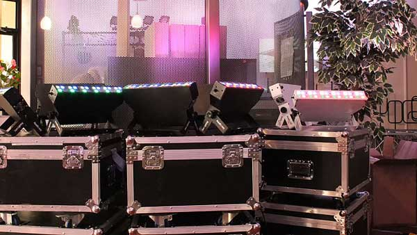 Audio Video Lighting and Staging Equipment can be seen in our Allstar Show Industries Edmonton Show Room