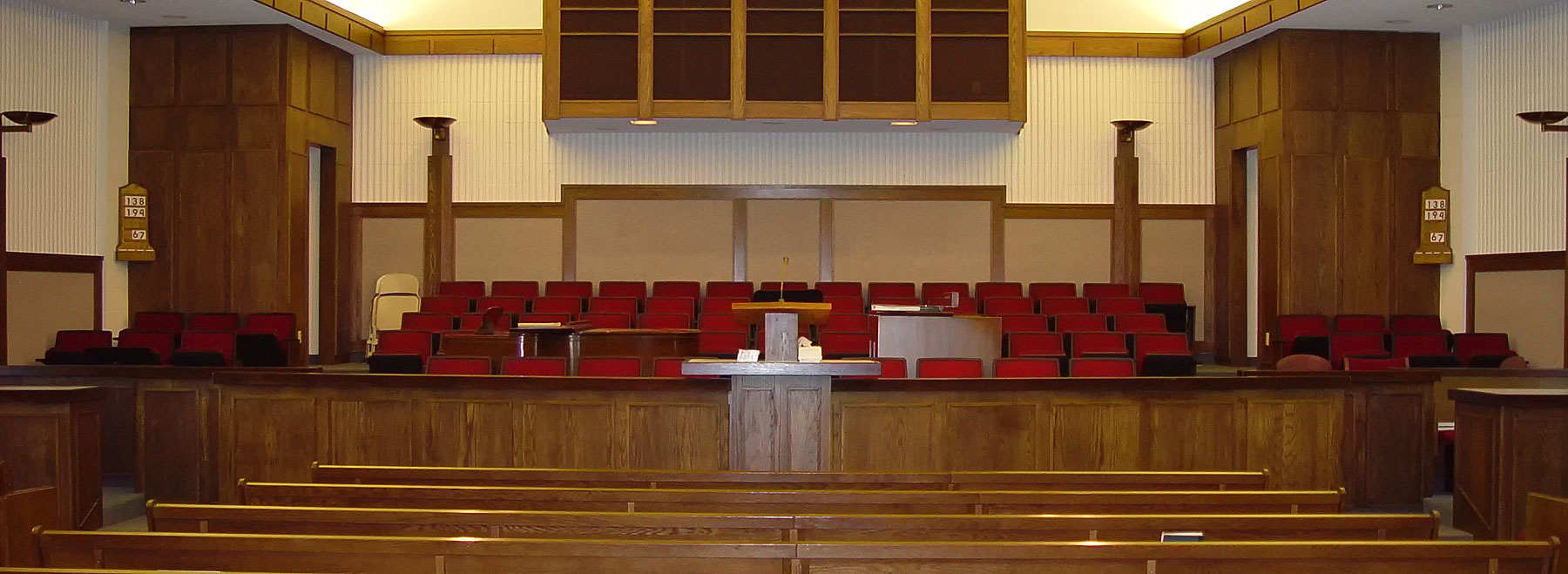 One of many LDS Churches where Allstar has supplied and installed an audiovisual system.