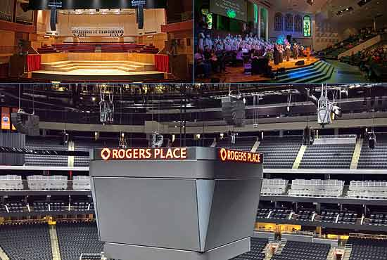 d&b contracting and installation products for theatres, concert halls and sports facilities
